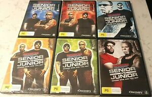 American Chopper Senior vs Junior Season 1 - 4 (DVD, 2011+, 14-Disc Set) Reg 4