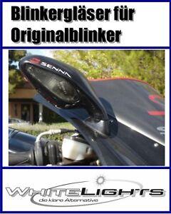 Black Front Indicator Glasses Mv Agusta F4R F4 750 1078 312 RR Smoked Signals
