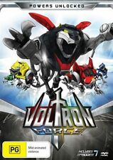 Voltron Force - Powers Unlocked (DVD, 2012, Region 4) NEW & SEALED