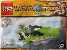 LEGO World Racers 30031 Powerboat minifig speedboat race building hobby NIP