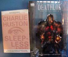 Sleepless Charlie Huston Deathlok The Demolisher HC Marvel TPB Bundle