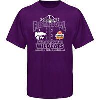 Kansas State Wildcats 2013 Fiesta Bowl t-shirt new K-State Football Big 12