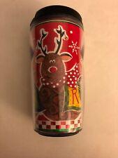 Starbucks 2001 Reindeer 8 oz. Tumbler Christmas Deer Holiday Coffee Tea Refill