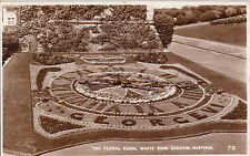 The Floral Clock, 1937, White Rock Gardens, HASTINGS, Sussex RP