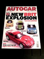 AUTOCAR MAGAZINE 21-MAY-02 - Mini Cooper S, TVR Tuscan, Lotus Elise, VW Phaeton