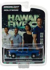 1:64 GreenLight *HOLLYWOOD R16* HAWAII FIVE-0 BLUE 2014 Silverado Truck *NIP*