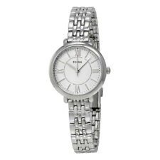 Fossil ES3797 Jacqueline Silver Dial Stainless Steel Ladies Watch