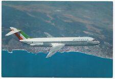 Alitalia Douglas DC9/30 Class Airplane PPC Unposted