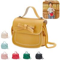 Cute Kids Girls PU Messenger Bag Handbag Fashion Purse Wallet Crossbody Bag