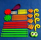 Mix KNEX Good assembly games for motor skills for children  collectors Parts .