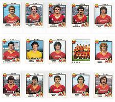 LOTTO 15 FIGURINE ROMA CALCIATORI PANINI 1982-83 82 83 EDICOLA NEW DIVERSE