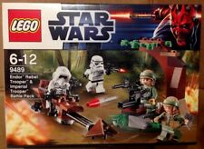 c LEGO 9489 - STAR WARS - ENDOR rebel - Imperial Troopers (nuovo, mai aperto)
