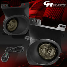 SMOKED LENS OE FITMENT FOG LIGHTS+SWITCH+WIRE LH+RH FOR 09-14 FORD F-150 TRUCK
