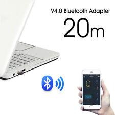 Bluetooth 4.0 USB 2.0 CSR 4.0 Dongle Adapter PC LAPTOP WIN XP VISTA 7 8 10  OV