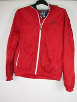 vtg 80s re issue fila hooded windbreaker sports over Coat casuals jacket XL