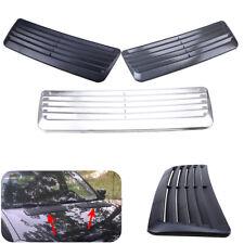 Universal Car Decorative Air Flow Intake Scoop Turbo Bonnet Vent Cover Hood Trim