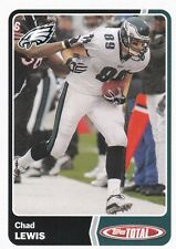 2003 Topps Total NFL Trading Card #248 Chad Lewis Philadelphia
