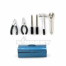 MHPC 1/10 RC Crawler Accessory Scale Metal Tools & Tool Box Axial D90