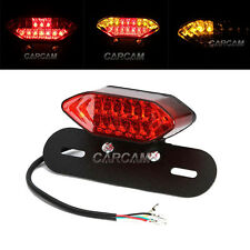 License Plate LED Red Tail Light For Suzuki DR650SE DRZ125 DRZ400S RMZ 250 450