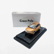 Original 1/64 Shanghai Volkswagen cross polo metal yellow alloy car model