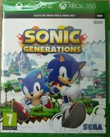 Sonic Generations For XBox 360 and Xbox One Game GIFT IDEA