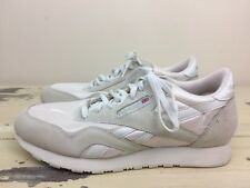 REEBOK CLASSIC - Vtg Mens White Running Casual Tennis Shoes, Sz 11.5 - MUST SEE!