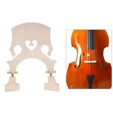 3/4 Size Maple Bridge Replacement for Double Bass Adjustable Part High Quality
