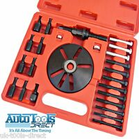 Harmonic Balancer Puller and Installation Installer Tool Set Kit 24pc