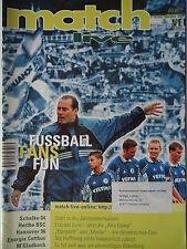 match live 37 Hools Fanszene Bremen Erfurt Cottbus BMG HSV KSC H96 Aachen S04