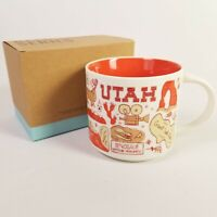 Starbucks UTAH You Are Here 2018 Ltd BEEN THERE Ceramic Coffee Cup 14 oz Mug