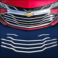 Chrome Grille Overlay (6 PCS) Compatible with 2019-2020 Chevy Cruze