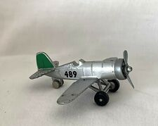 """No. 847 High Speed Propeller Airplane Toy """"Car"""" Numbered 489 on Fuselage"""