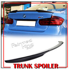 Carbon BMW F80 M3 F30 Saloon V-Style Rear Trunk Boot Spoiler 320i 328d