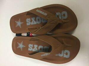 Dallas Cowboys Men's Color Pop Contour Flip Flop Sandals