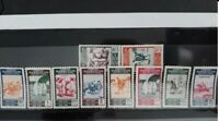 Spanish Morocco 1953 Complete set mint stamps. EDIFIL 384/393, Gum (w/oxide) I
