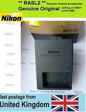 Genuine Original Nikon MH-31 quick Charger EN-EL24 Nikon J5 ,UK 3 Pin Plug
