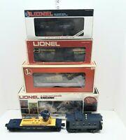 LIONEL POSTWAR 8154 ALASKA RAILROAD ENGINE & TRAIN SET 5 CARS NICE!
