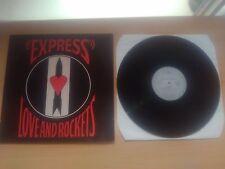 Love And Rockets - Express LP 1986/Ex-Bauhaus New Wave Punk