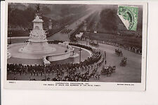 Vintage Postcard Coronation Of King George V & Queen Mary of Great Britian