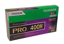 Fuji Fujifilm Pro 400H - 120 Medium Format - Roll Film - 5 pack - Dated 10/2021