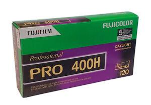 Fuji Fujifilm Pro 400H - 120 Medium Format - Roll Film - 5 pack - Dated 03/2022