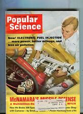 Popular Science Magazine January 1968 Electronic Fuel Injection 063017nonjhe2