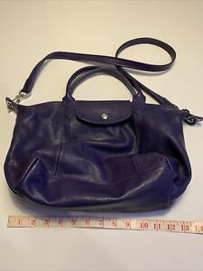 Longchamp Leather Shoulder Bag