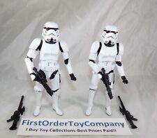 "Star Wars Black Series 6"" Inch Imperial Stormtrooper Loose Figure Lot COMPLETE"