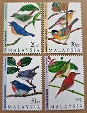 1997 Malaysia Highland Birds 4v Stamps Mint Never Hinged