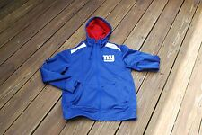 New York Giants Adult Small Thermal Insulated Hooded On-Field Jacket by Nike