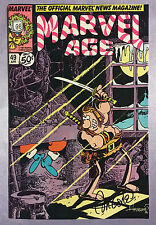 MARVEL AGE #49~GROO & SANTA CLAUS~HAND-SIGNED BY SERGIO ARAGONES~MAD MAGAZINE