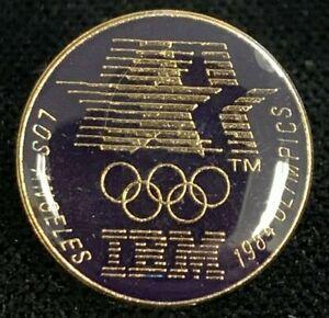 Rare Vintage 1980 LAOC 1984 Los Angeles Olympics IBM Lapel Pin! WPIN192