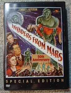 Invaders From Mars (DVD, 2002)