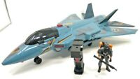 Toys R Us Sentinel 1 True Heroes Truhawk Jet Plane Fighter & GI Joe Complete